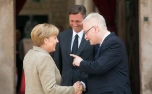 Merkel stigla u Dubrovnik