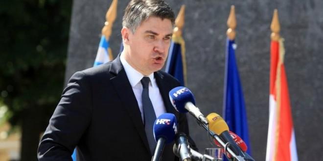 Milanović u Kninu 5. 8 2014