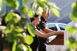 Tijana Jurić pogreb 2