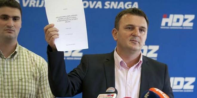 HDZ traži Baldasarovu ostavku: Imamo dokaze o namještanju natječaja za Turističku palaču!