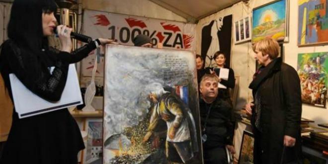 Aukcija U Braniteljskom šatoru Ruža Tomašić Kupila Sliku 5