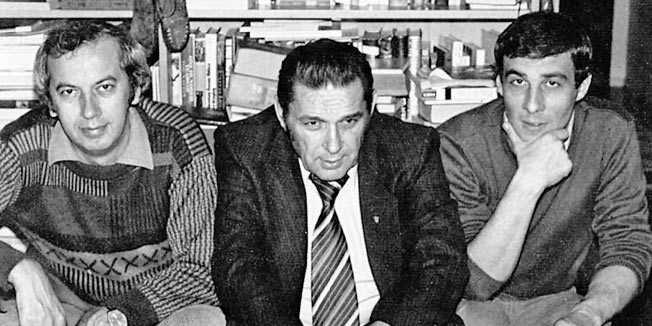 Bruno Bušić, Franjo Mikulić i Zlatko Božidar Markus