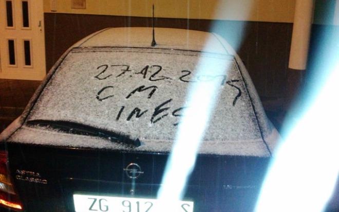 snijeg zagreb
