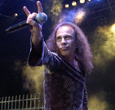 RONNIE JAMES DIO-DECESO