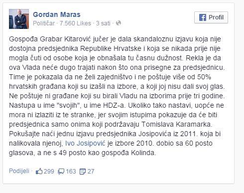 maras facebook