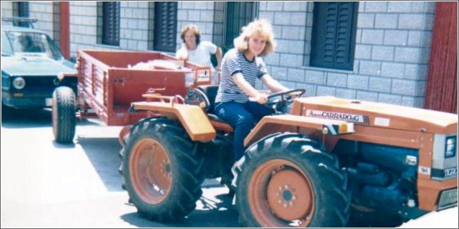 kolinda na traktoru