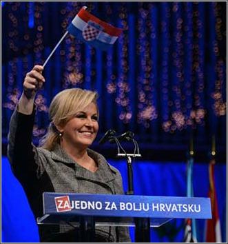 kolinda, zastava