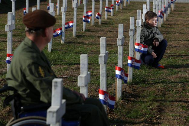 Vukovar, 18.11.2012 - Obiljezavanje Dana sjecanja na zrtvu Vukovara 1991