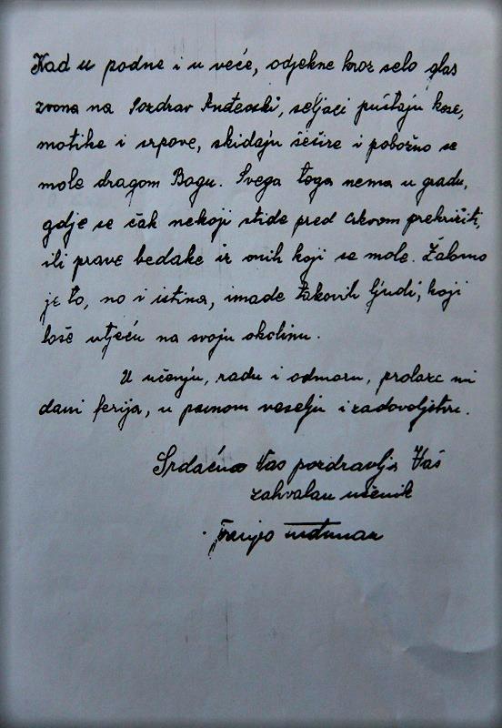 tudjmanovo pismo 2