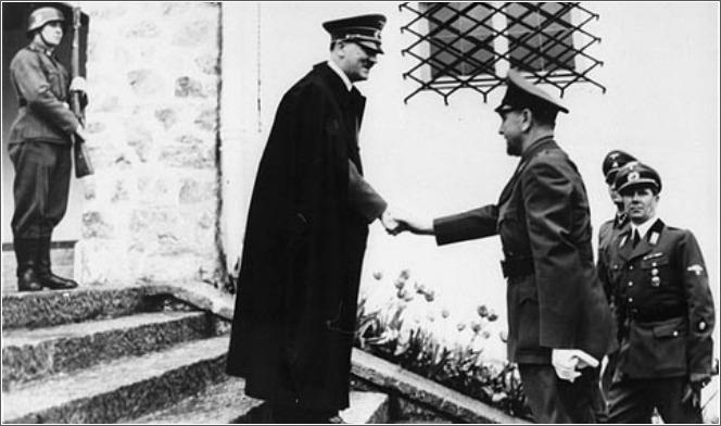 Adolf Hitler i Ante Pavelić 1941.
