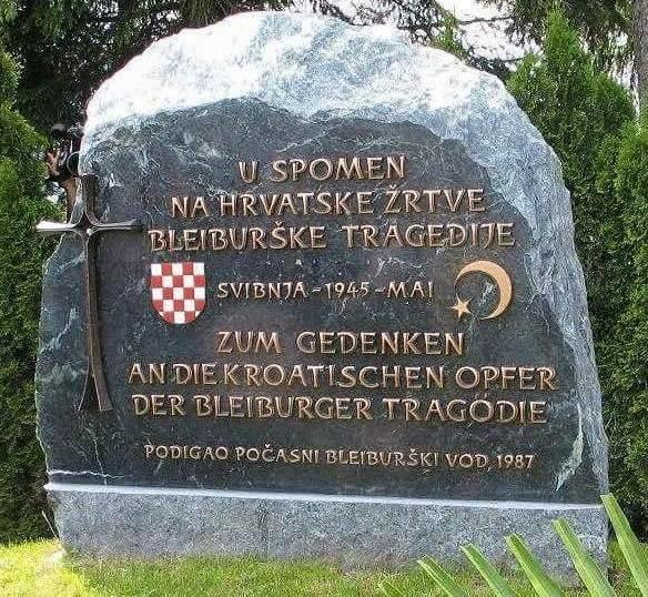 bleiburg, spomenik