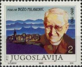 Božo_Milanović_poštaska marka