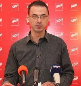Mirko Antunović, SDP Knin