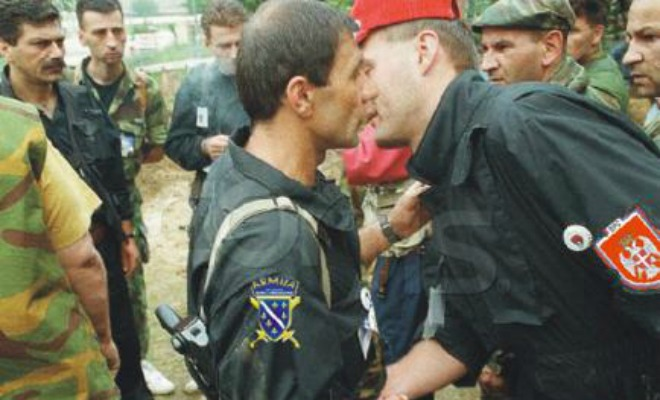 armija bih,  srpska vojska