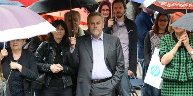 bandić, kišobrani