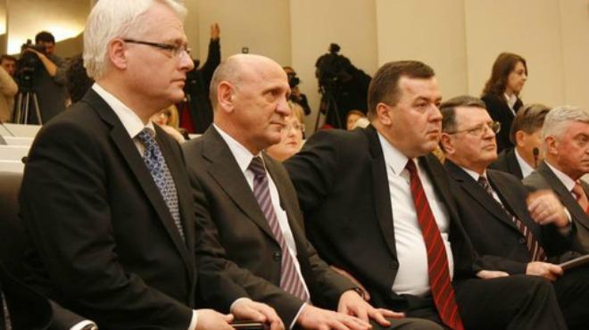 Lozančić je u Sarejvu bio jedan od domaćina hrvaskom predsjedniku Ivi Josipoviću