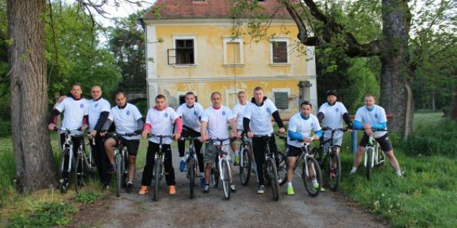 okučani, biciklisti