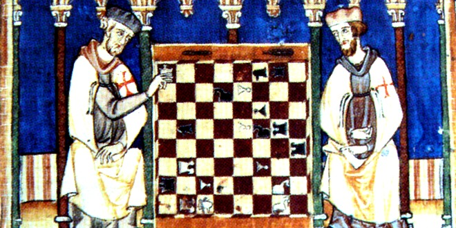 car šeram, šahovski problem