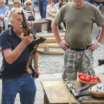 Rijeka, 18.06.2015 - Tijekom performansa Olivera Frljica i Marina Blazevica doslo je do incidenta