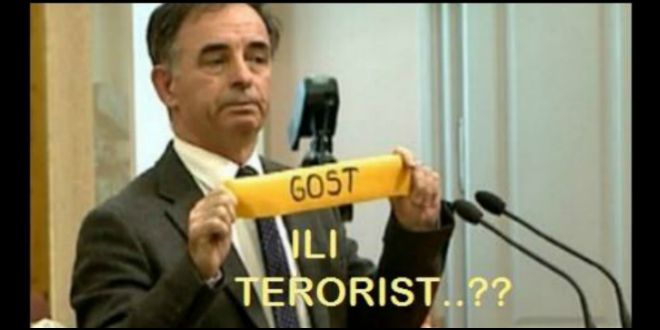 pupovac, gost ili terorist