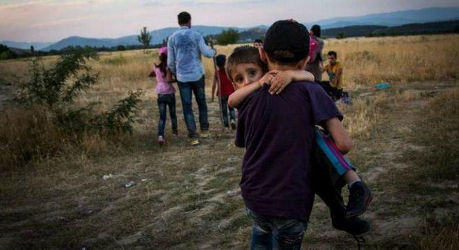 izbjeglice, sirija, makedonija