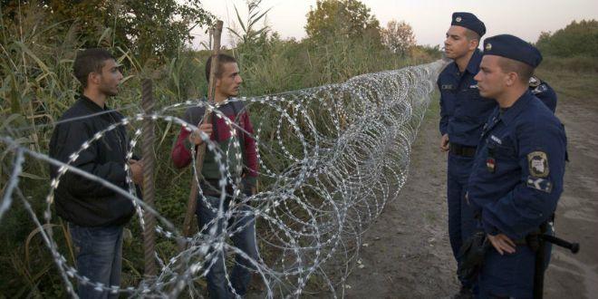 mađarska vojska, granica