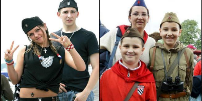 mlade usatse i partizani