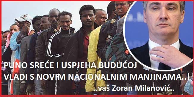 milanović, izbjeglice