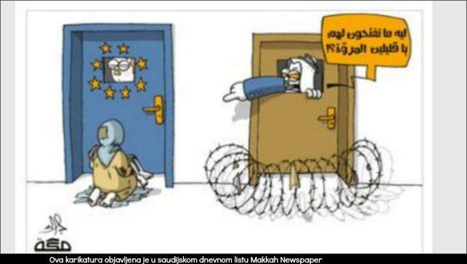 karikatura, saudi arabija