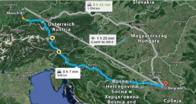 migranti, karta hrvatske