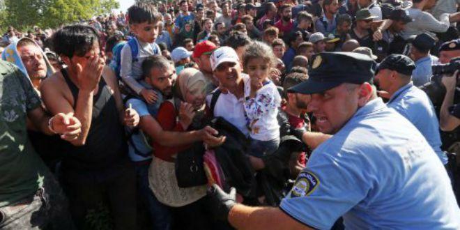 policija izbgjeglice