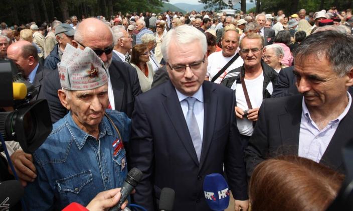josipović i partizani
