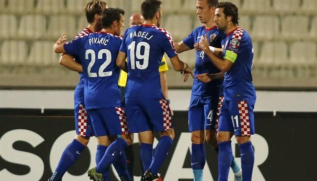 Malta - Hrvatska (Perišić, Srna, Rakitić)
