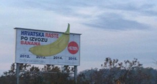 banane, plakat