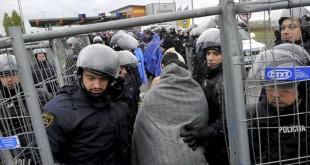izbjeglice_slovenija, granica, policija