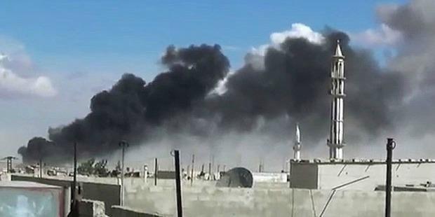 syria, raketiranje