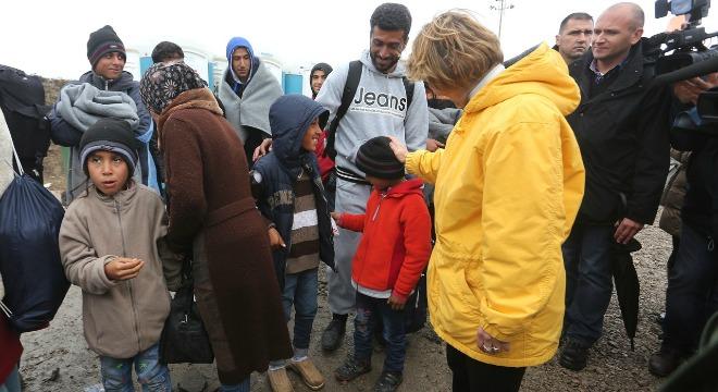 vesna pusić, izbjeglice dijete