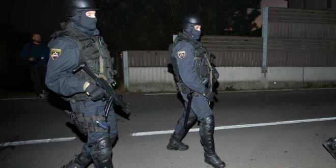granica, policija