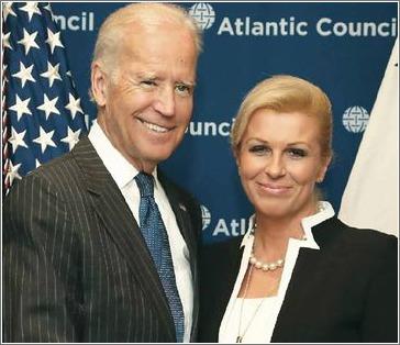 Joseph Biden i Kolinda Grabar Kitarović