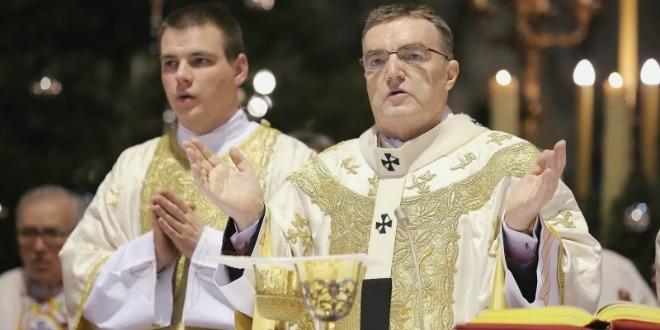kardinal bozanić, katedrala, ponoćka