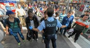 azilanti, njemačka, policija