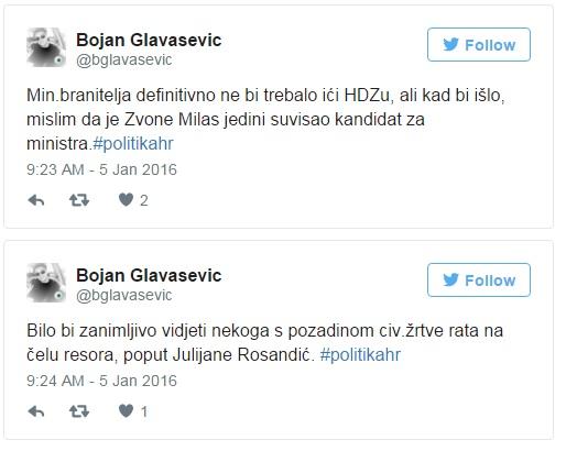glavašević, ministri