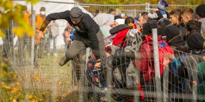 izbjeglice, ograda