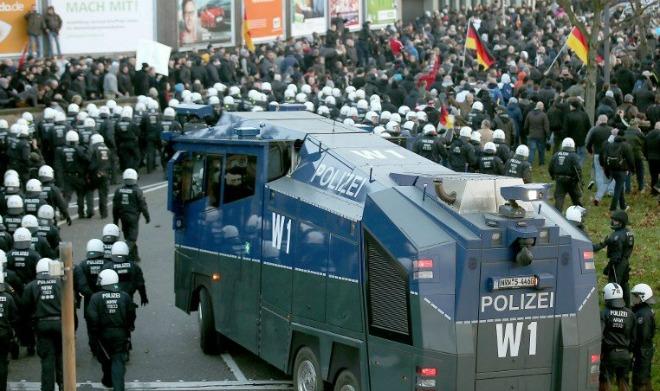 keln, prosvjed pprotiv izbjeglica