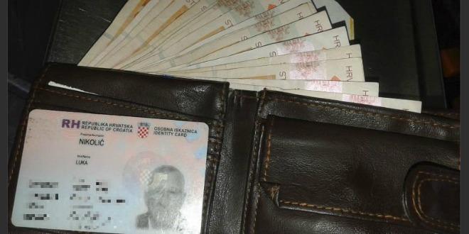 vozač, rijeka, novčanik