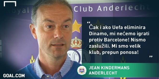 Jean Kindermans, DIREKTOR ANDERLECHTA