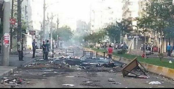 Dyiarbakir, turci riše kurdski grad