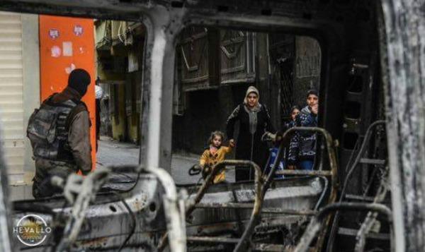dyiarbakir, turci ruše, kurdi