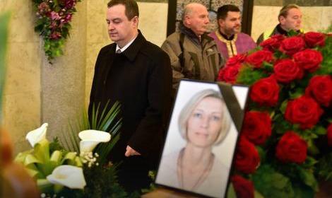 slađana stanković, pogreb