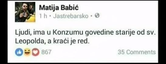 BABIĆ, INDEX, UVREDE